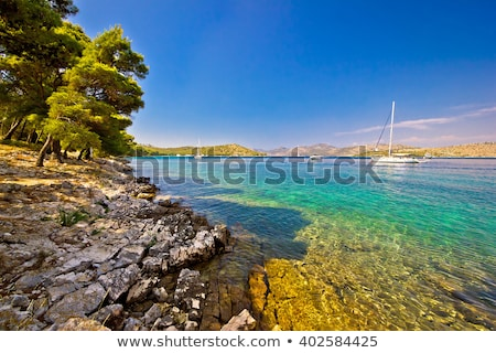 Telascica bay nature park yachting destination of Dugi otok isla Stock photo © xbrchx