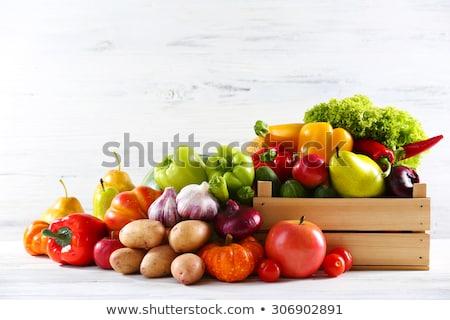 Szett lila zöldségek gyümölcsök különböző Stock fotó © furmanphoto