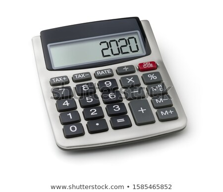 A calculator with the 2020 on the display Stock photo © Zerbor