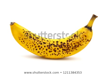 frescos · maduro · plátano · aislado · blanco · alimentos - foto stock © karandaev