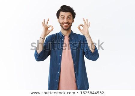 парень идеальный выбора человека футболки Сток-фото © benzoix