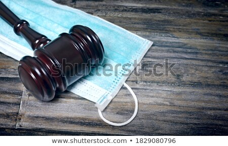 法 コロナウイルス 立法 正義 法制 ストックフォト © Lightsource