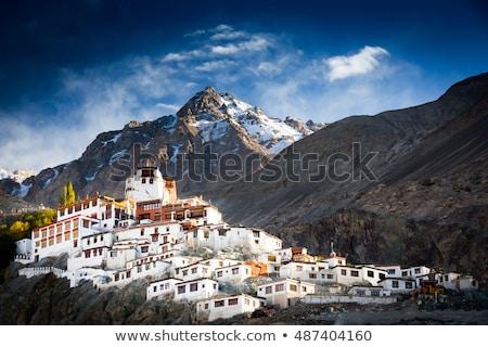 долины Гималаи Индия пейзаж горные гор Сток-фото © dmitry_rukhlenko
