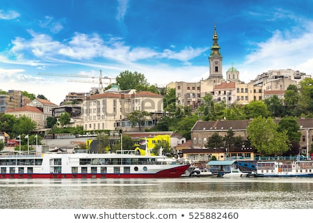 Belgrade urban view Stock photo © simply