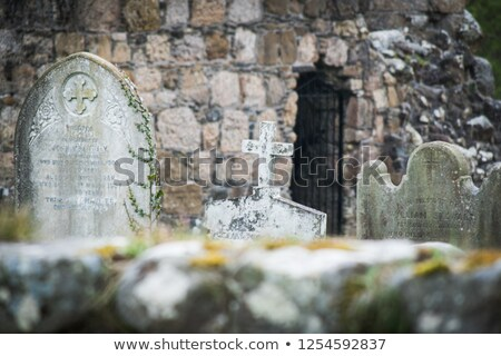 irish graveyard 3 stock photo © morrbyte