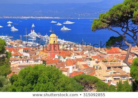 bay of saint tropez in france stock photo © musat