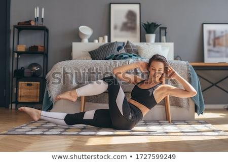 Stok fotoğraf: Kadın · kız · vücut · sağlık · bacaklar