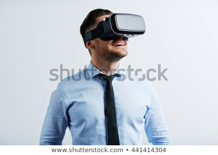 Businessman with virtual glasses stock photo © Paha_L