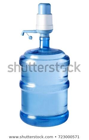 groot · fles · water · geïsoleerd · witte - stockfoto © ruslanomega