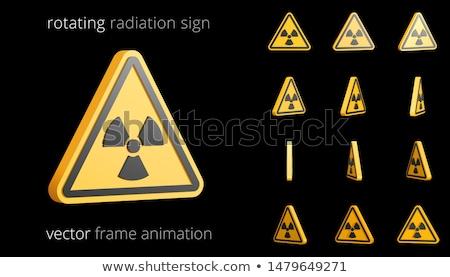 Warning symbols - Hazard Signs-Second set Stock photo © Ecelop