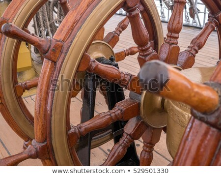 a boat masts and rigging Stock photo © njaj