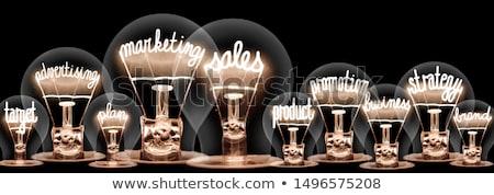 Estratégia de marketing quebra-cabeça negócio mão sucesso Foto stock © devon