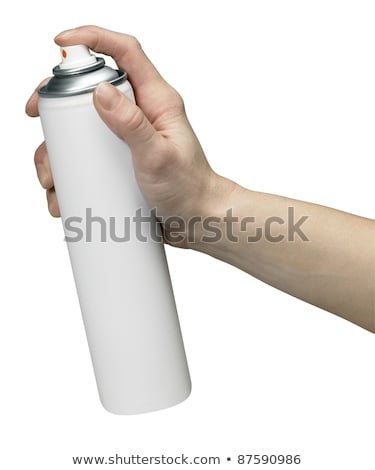 Studio Shot Of Spray Can Isolated Photo stock © PRILL