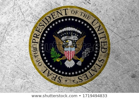Grunge Presidential Seal of the USA Stock photo © HypnoCreative