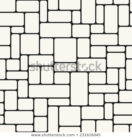 Irregular bricks, seamlessly tileable Stock photo © Balefire9