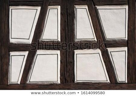 Edad granero mitad puerta escalera textura Foto stock © franky242