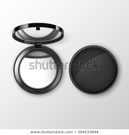 Make Up Reflected in Compact Mirror Stock photo © frannyanne