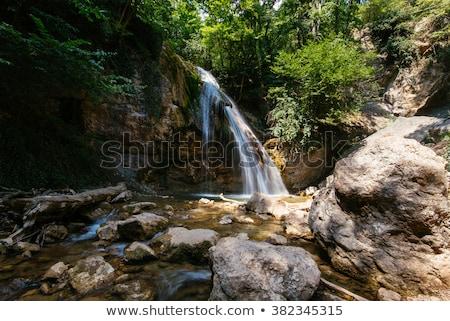 klein · natuurlijke · waterval · park - stockfoto © Carpeira10