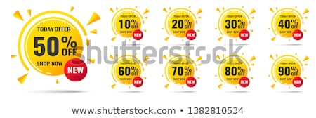 discount labels stock photo © nikdoorg