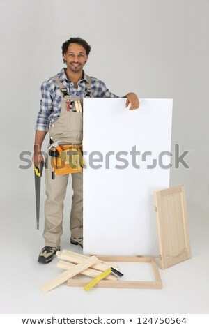 Mobilya panel ev çalışmak oda alışveriş Stok fotoğraf © photography33