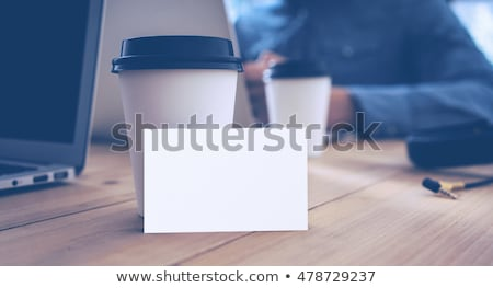 businessman taking out business card Stock photo © photography33