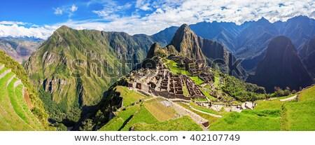 Мачу-Пикчу · регион · Перу · утра · приют - Сток-фото © backyardproductions