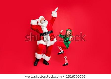 happy dancing elf stock photo © aliencat