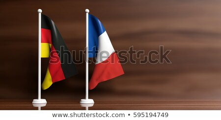 French Supporter waving miniature flag Stock photo © photography33