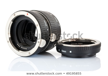 set of extension tube used for macro photography Stock photo © pxhidalgo