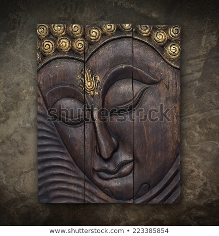 Buddhist art on the walls Stock photo © bbbar