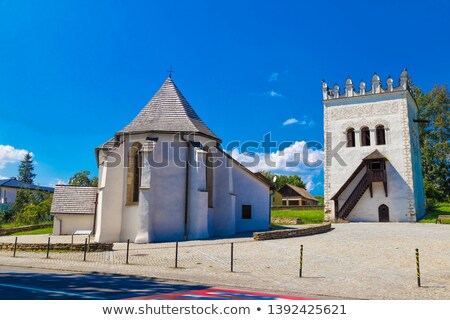 Strazky Castle, Slovakia Stock photo © phbcz