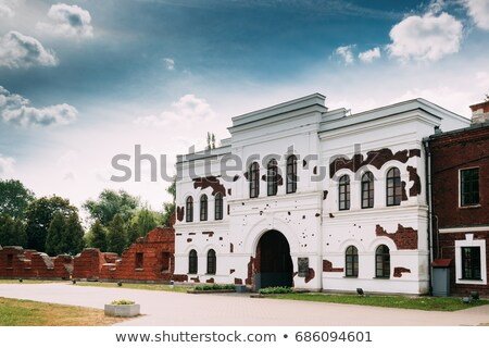 inside Brest Fortress Stock photo © PetrMalyshev