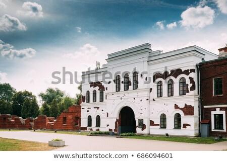 inside Brest Fortress stock photo © PetrMalyshev