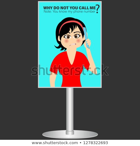 Why you called me ? Stock photo © stockyimages