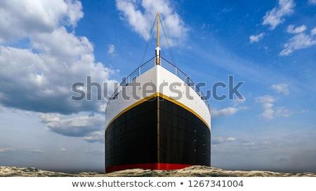 Titanic ship - 3D render Stock photo © Elenarts