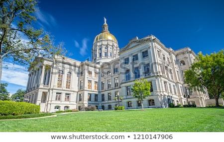 Grúzia · épület · Atlanta · este · építészet · USA - stock fotó © actionsports