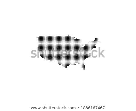 Carte USA Tennessee modèle vecteur Photo stock © Istanbul2009