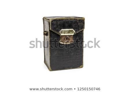 Vintage folding bellows roll film camera Stock photo © Balefire9