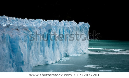 Buzdağı kenar buzul gri su doğa Stok fotoğraf © wildnerdpix