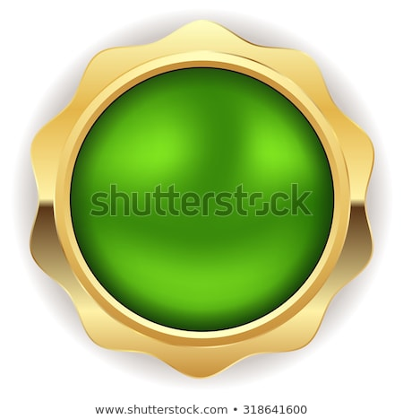 Warranty Guarantee Seal Green Vector Button Icon Design Set Stock photo © rizwanali3d