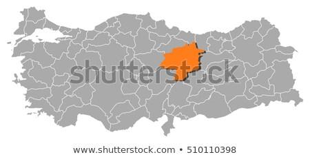 harita · Türkiye · dışarı · yalıtılmış · beyaz · mavi - stok fotoğraf © istanbul2009
