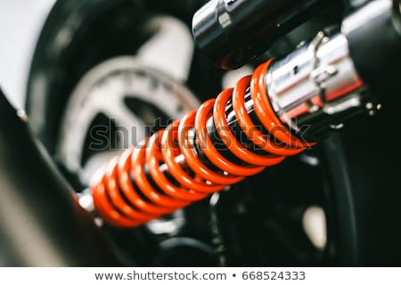 Shock absorber machinery Stock photo © stoonn