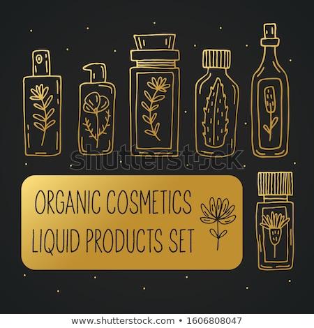 set of farmacy icons stock photo © angelp