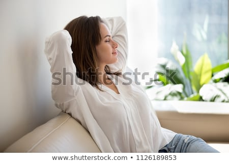 day dreaming woman stock photo © blanaru