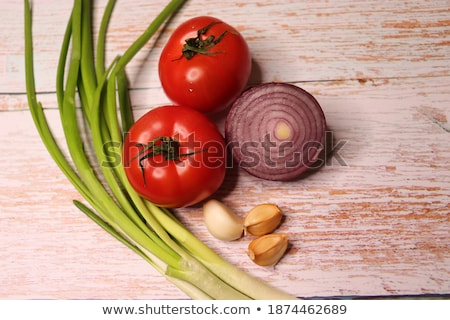 Multicolored Raw Tomatoes Stock photo © zhekos