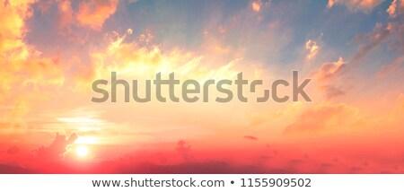 Stock photo: Cross Sun Clouds