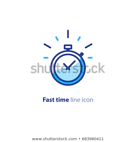 A running clock Stock photo © bluering