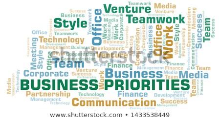 Woord school boord achtergrond onderwijs tabel Stockfoto © fuzzbones0