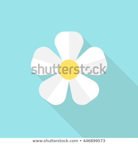 A blue five-petal flower Stock photo © bluering