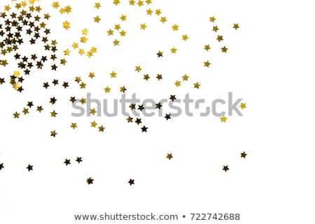 Gold Star foil Stock photo © blackmoon979